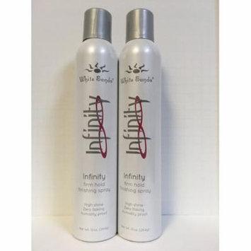 White Sands Infinity Finishing Hair Spray 10 oz 2 PACK