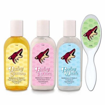 Arizona Coyotes Newborn & Infant Baby Lotion and Soap Gift Set - No Size
