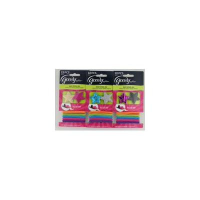 Softies Stars Easy Stick-on No-clip Grip, 2 Softies and 10 Elastics, Colors Very, 2 Softies By Goody