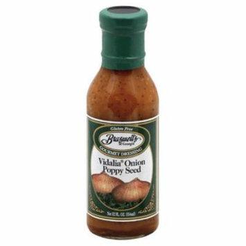 Braswells Vidalia Onion Poppy Seed Gourmet Dressing, 12 Oz (Pack of 6)
