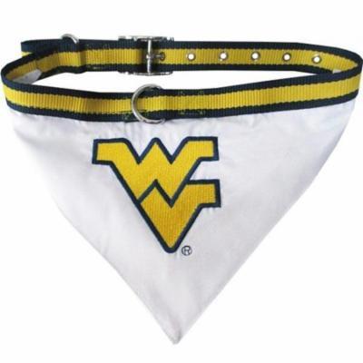 West Virginia Mountaineers Dog Collar Bandana - Large