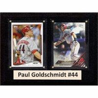 C&I Collectables MLB 6x8 Paul Goldschmidt Arizona Diamondbacks 2-Card Plaque