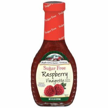 Maple Grove Farms Sugar Free Raspberry Vinaigrette Dressing 8 Oz (Pack of 6)