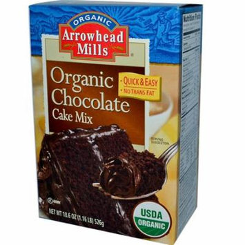 Arrowhead Mills, Organic Chocolate Cake Mix, 18.6 oz (pack of 1)