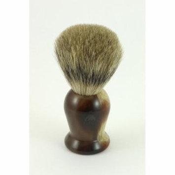GBS 100% Pure Badger Bristle Shaving Brush (Lighthorn)