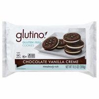 Glutino chocolate vanilla creme cookies, 10.6 oz (pack of 12)