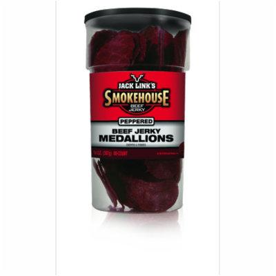 Jack Link's, Smokehouse Beef Jerky Medallions, Original, 14-Ounce