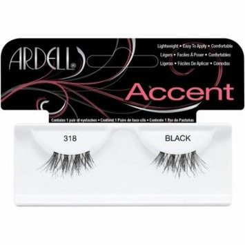 Duralash Accents False Eyelashes - #318 (Pack of 2), Accents Help Enhance Your Already Fabulous Look By Ardell