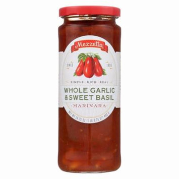 Mezzetta Marinara Whole Garlic And Sweet Basil - Pack of 6 - 16.25 Oz.
