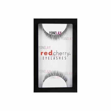 #747XS Strip False Eyelashes (6 Pairs), 6 individual packs of Red Cherry Branson false eyelashes By Red Cherry
