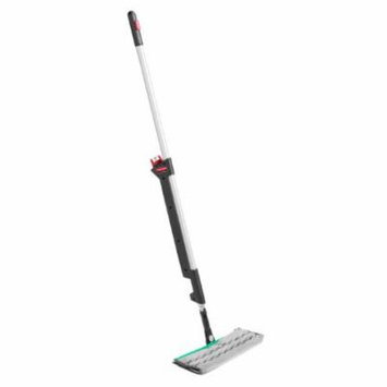 Pulse Executive Double-Sided Microfiber Spray Mop System, Black/silver, 55.8