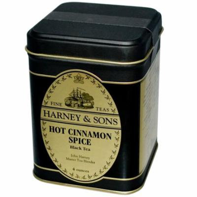 Harney & Sons, Black Tea, Hot Cinnamon Spice, 4 oz(pack of 1)
