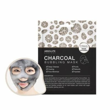 (3 Pack) ABSOLUTE Charcoal Bubbling Mask