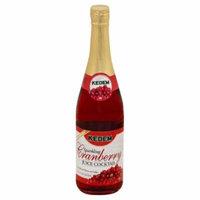 Kedem Cranberry Sparkling Juice Cocktail, 25.4 Fo (Pack of 6)
