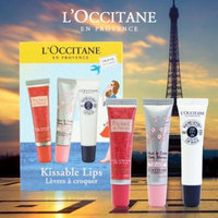 L'occitane Kissable Lips Set 0.4 oz / 12 ml ea