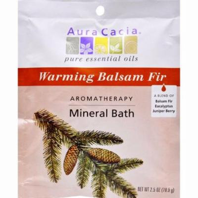 Aura Cacia Aromatherapy Mineral Bath Soothing Heat - 2.5 Oz - Pack of 6