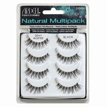 Multipack Demi Wispies Fake Eyelashes, Pack of 2, Create a beautiful, glamorous look By Ardell