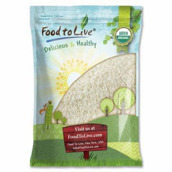 Organic Jasmine Rice by Food to Live (Raw White Rice, Whole Grain, Non-GMO, Bulk, Product of the USA) — 5 Pounds