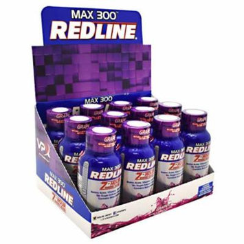 VPX, Max 300 Redline Grape 12 - 2.5 fl oz (74 mL) bottles