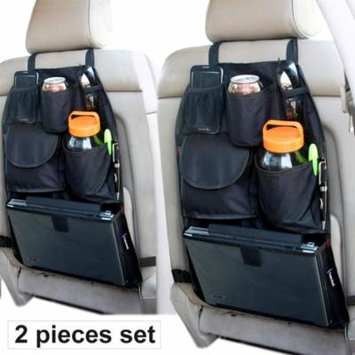2 Pack YupBizauto Car Auto Seat Organizer Holder Multi-Pocket Travel Storage Bag