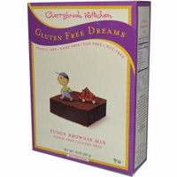 Cherrybrook Kitchen, Gluten Free Dreams, Fudge Brownie Mix, 14 oz (pack of 2)