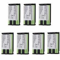 7x Phone Battery For Panasonic KX-TG5423 KX-TG5428 KX-TG5431 KX-TG5432 KX-TG5433