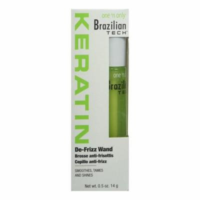 One N Only Brazilian Tech Keratin De-frizz Wand For Hair, 0.5 Oz, 6 Pack