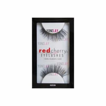 False Eyelashes #82 (Packs of 12), 100% Human hair By Red Cherry