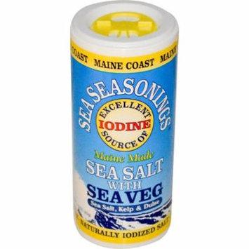 Maine Coast Sea Vegetables, Sea Seasonings, Sea Salt with Sea Veg, 1.5 oz(pack of 4)