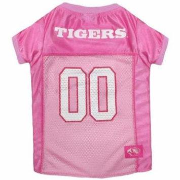 Missouri Tigers Pink Dog Jersey
