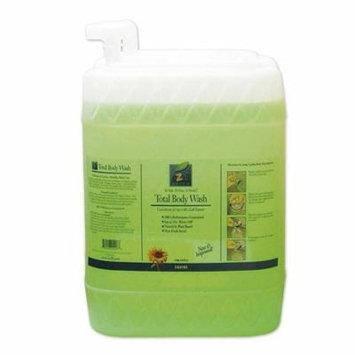 ezall total body wash green
