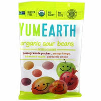 YumEarth, Organic Sour Beans, 12 Packs, 2.5 oz Each(pack of 4)