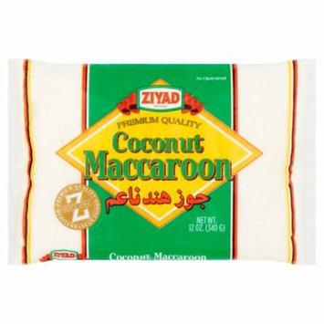 Ziyad Maccaroon Coconut,12 Oz (Pack Of 12)