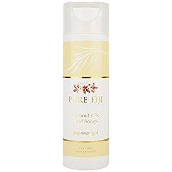 pure fiji shower gel, milk and honey, 8.5 ounce