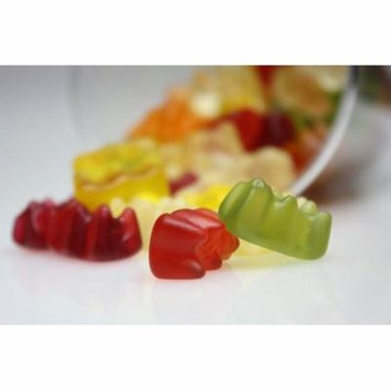 LAMINATED POSTER Colorful Fruit Jelly Gummi Bears Sweet Candy Poster Print 24 x 36