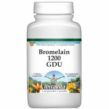Bromelain 1200 GDU Powder (1 oz, ZIN: 519379) - 2-Pack
