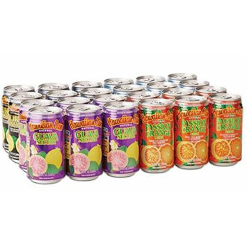 Hawaiian Sun Tropical Fruit Drinks 11.5 fl oz Cans (Variety Pack, 24 Cans)