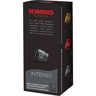 4 Boxes of Kimbo Intenso Nespresso Capsules