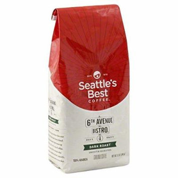 Seattle's Best 6th Avenue Bistro Level 4 Medium Dark Roast Coffee 2Pack (2 LB Each )