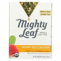 Mighty Leaf Tea Herbal Tea - Organic Detox Infusion - Case of 6 - 15 Bags