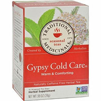 Bulk Saver Pack 6x16 BAG : Traditional Medicinals Gypsy Cold Care Herbal Tea - 16 Tea Bags