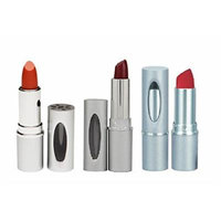 Honeybee Gardens Bombshell, Burlesque and Desire Lipstick Bundle With Sesame Seed Oil, Sunflower Seed Oil and Cocoa Seed Butter, 0.13 oz Each