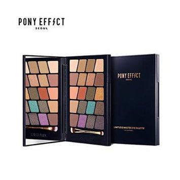 PonyEffect Limitless Master Eye Palette 20 Colors '17 Retro-Spect Summer Edition