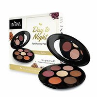 Inika Day to Night Eye Shadow Palette, Limited Edition Holiday 2017 Beauty Gift Set, Vegan Make Up, Suits Sensitive Eyes