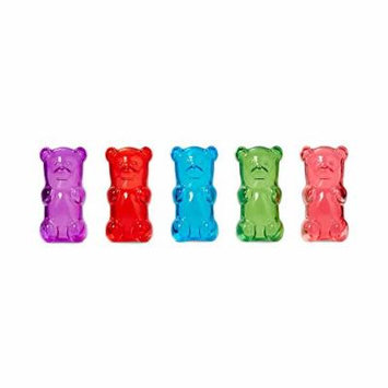 Gummygoods Gummy Bear Candy-Scented Lip Gloss, Set of 5