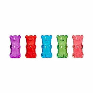 Gummygoods Gummy Bear Candy-Scented Lip Gloss, Set of 5