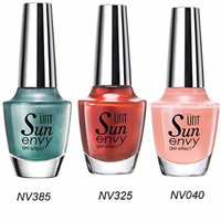 UNT 3 Pcs Gel Effect Nail Polish Quick Dry Nail Lacquer Durability No UV/LED Light Needed 15ml/0.5oz Each (NV385+NV325+NV040) W Free Gift