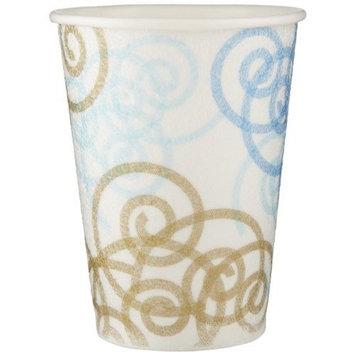 PerfecTouch 5342W Insulated Paper Hot or Cold Cup, Whimsy Design, 12 oz Capacity (20 Sleeves of 50)