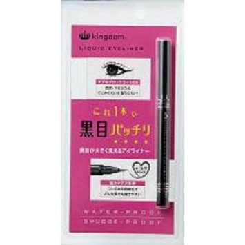 Kingdom Water Proof Liquid Eyeliner Black, 1 Ounce