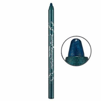 Holika Holika Horicahorica Jewel Light Waterproof Eyeliner, 14 Diamond Blue and Green, 1 Ounce